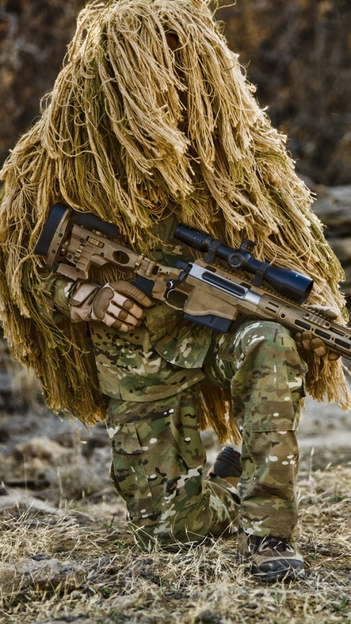 Military Sniper 720x1280 Mobile Wallpaper