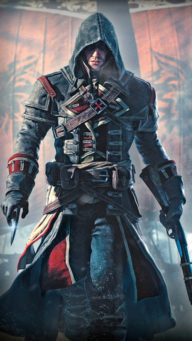 Group Of Assassin S Creed Rouge Wallpapers Iphone