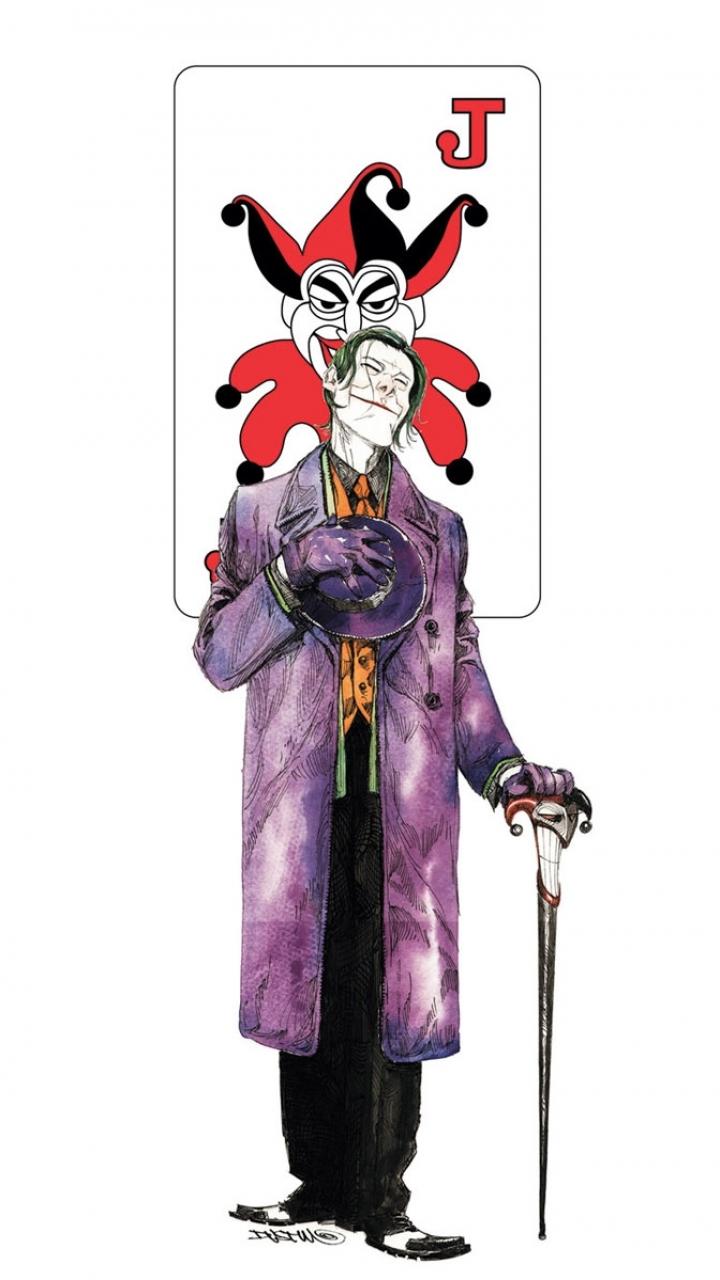 Comics Joker 720x1280 Wallpaper ID 474288