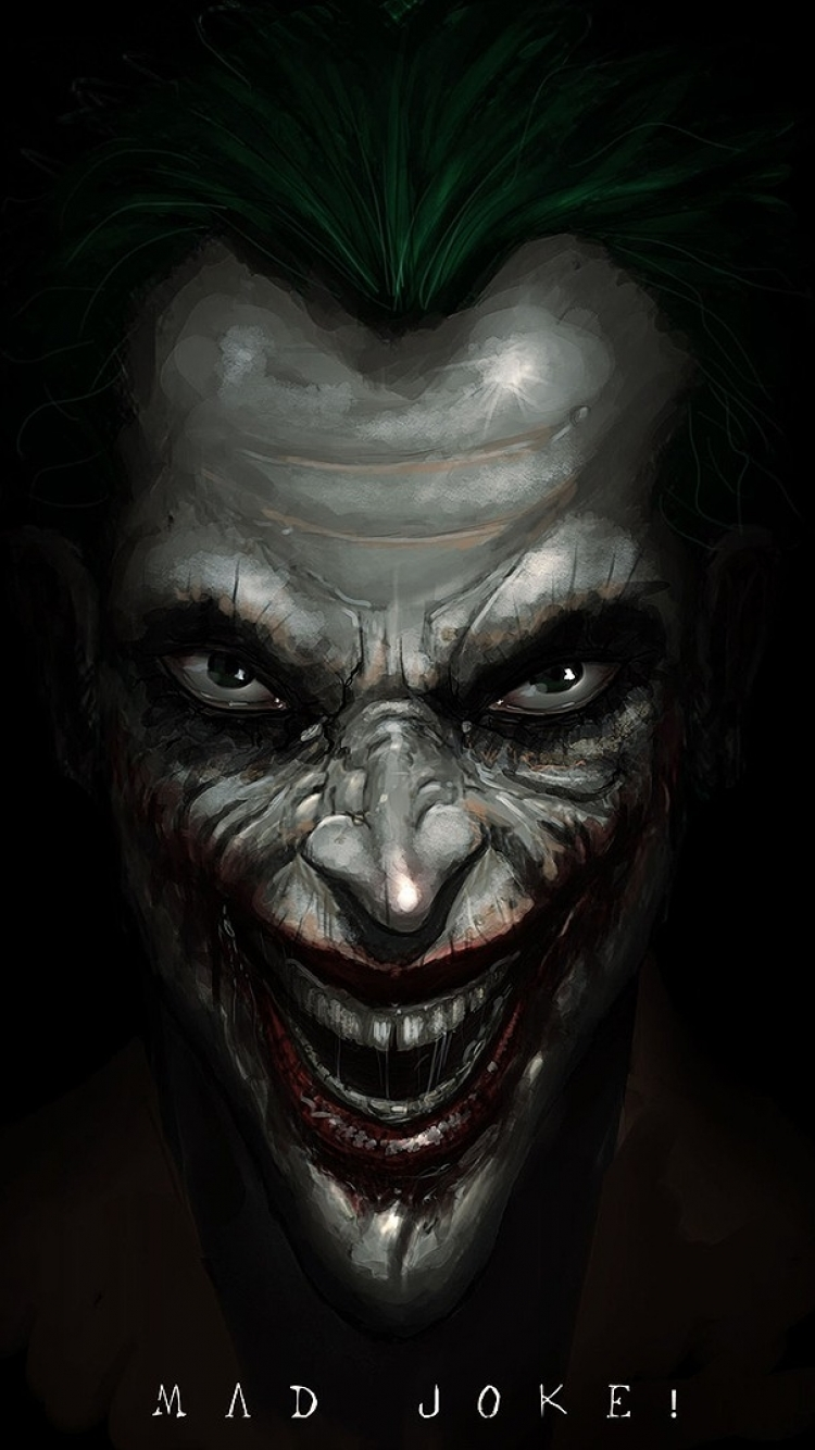 iPhone 5 - Comics/Joker - Wallpaper ID: 478600