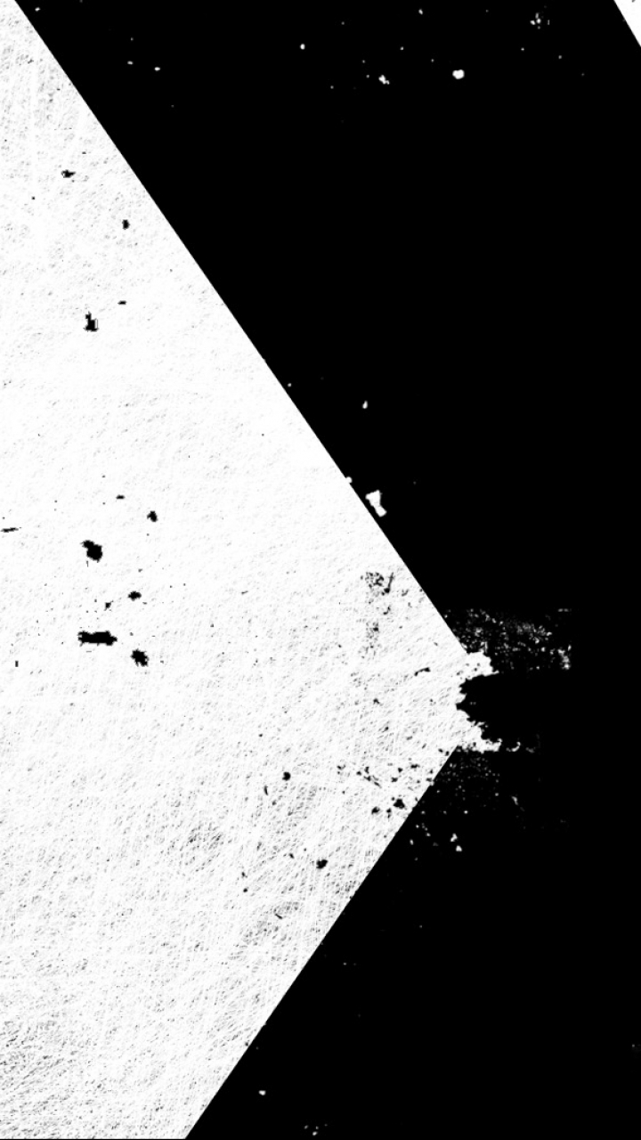 Abstract Black White 720x1280 Mobile Wallpaper