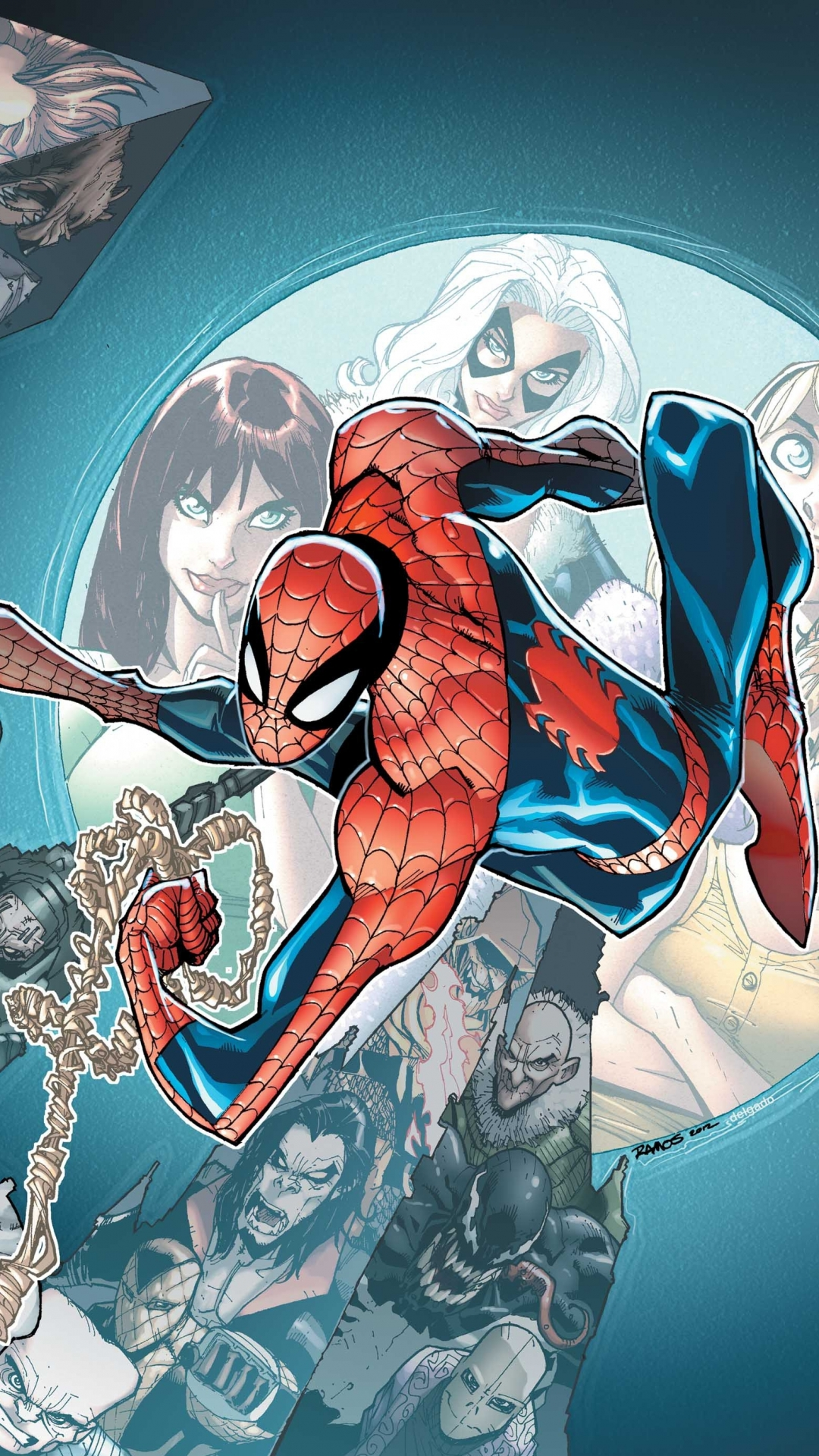 Comics Spider Man 1080x1920 Wallpaper Id 482550 Mobile Abyss
