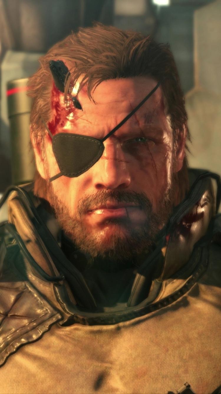 Video Game Metal Gear Solid V The Phantom Pain 750x1334