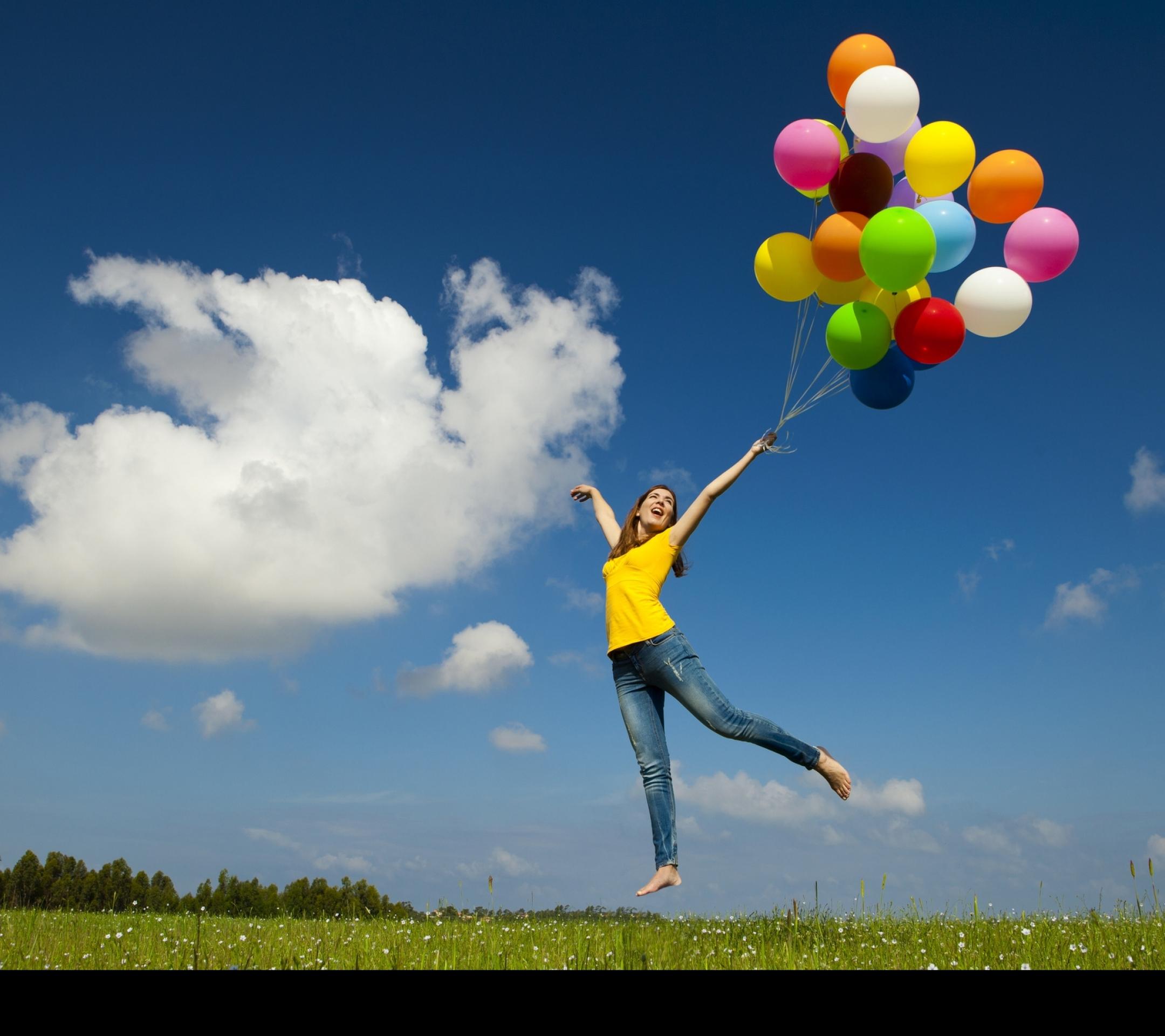 воздушная девушка бесплатно