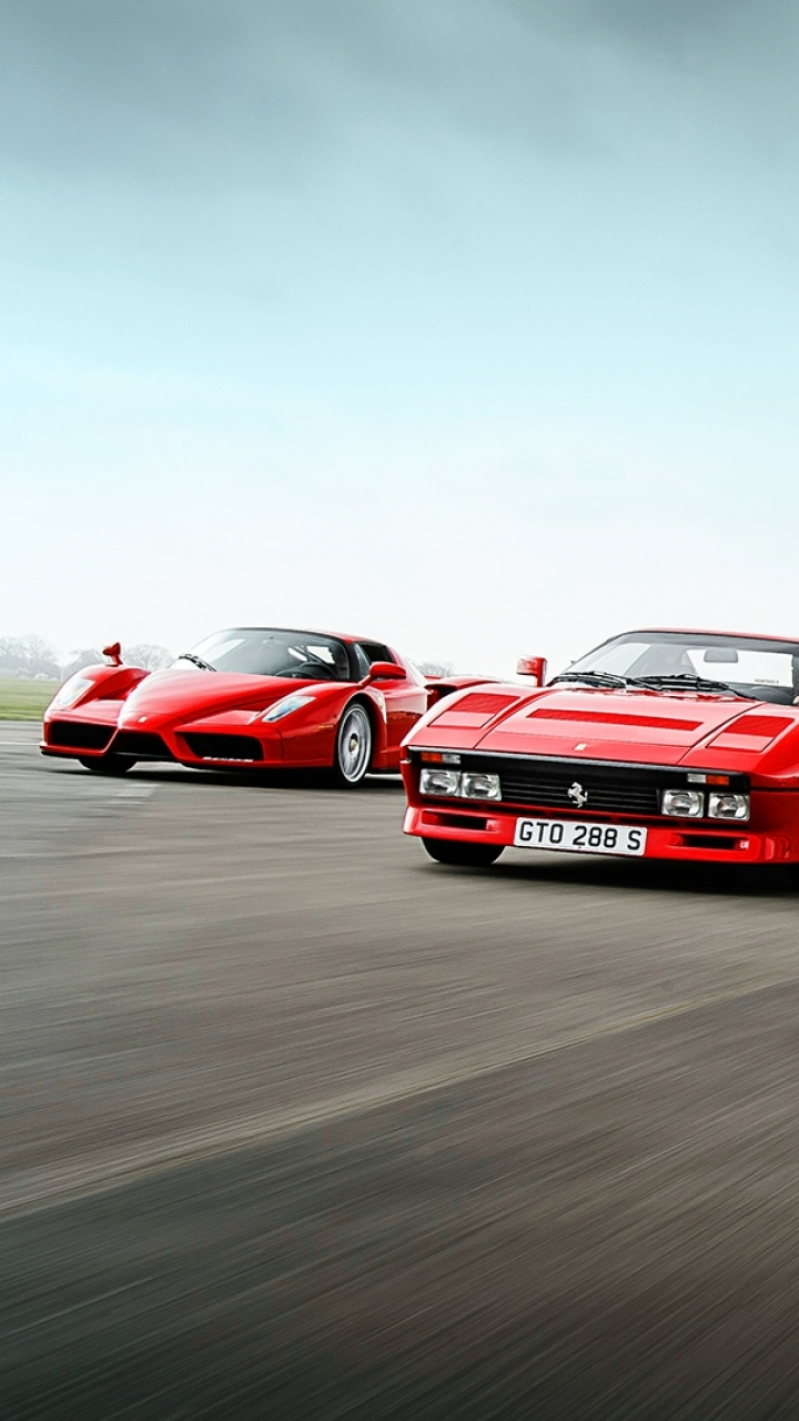 Group Of Top Ferrari F40 Wallpaper