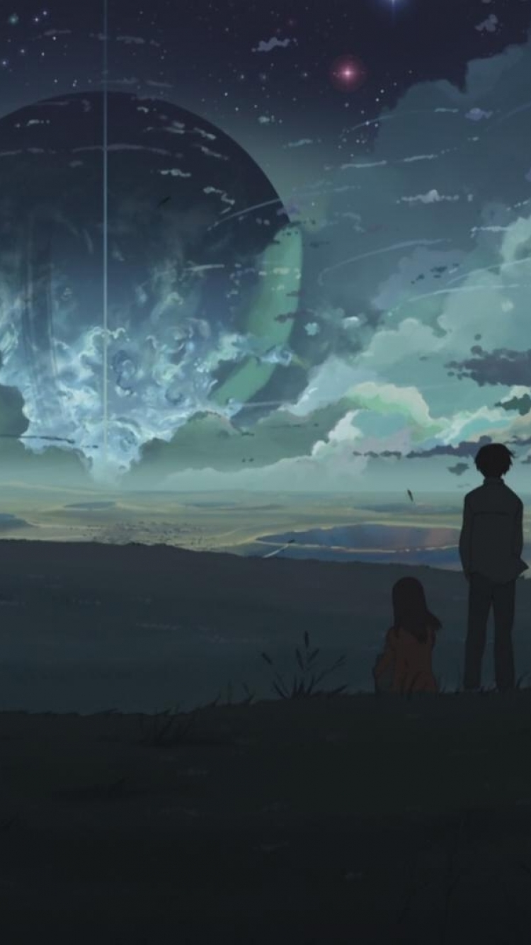Anime 5 centimeters per second 750x1334 mobile wallpaper