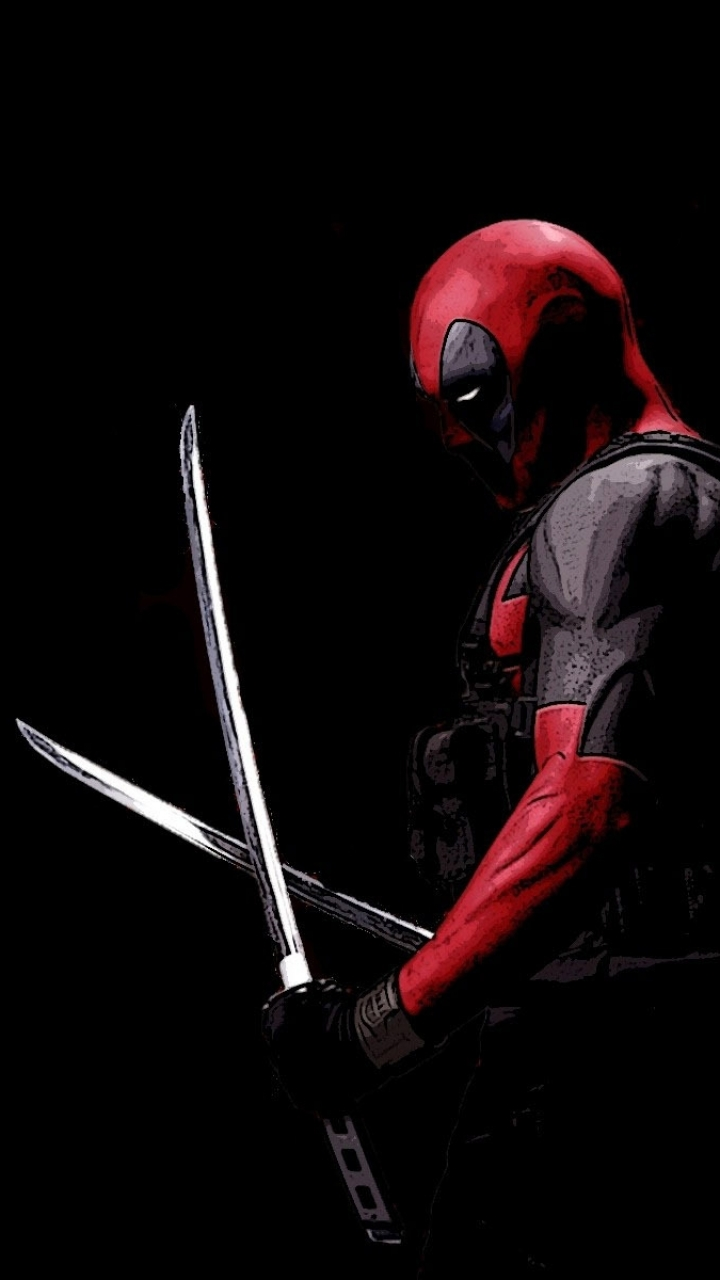 comics/deadpool (720x1280) wallpaper id: 500065 - mobile abyss