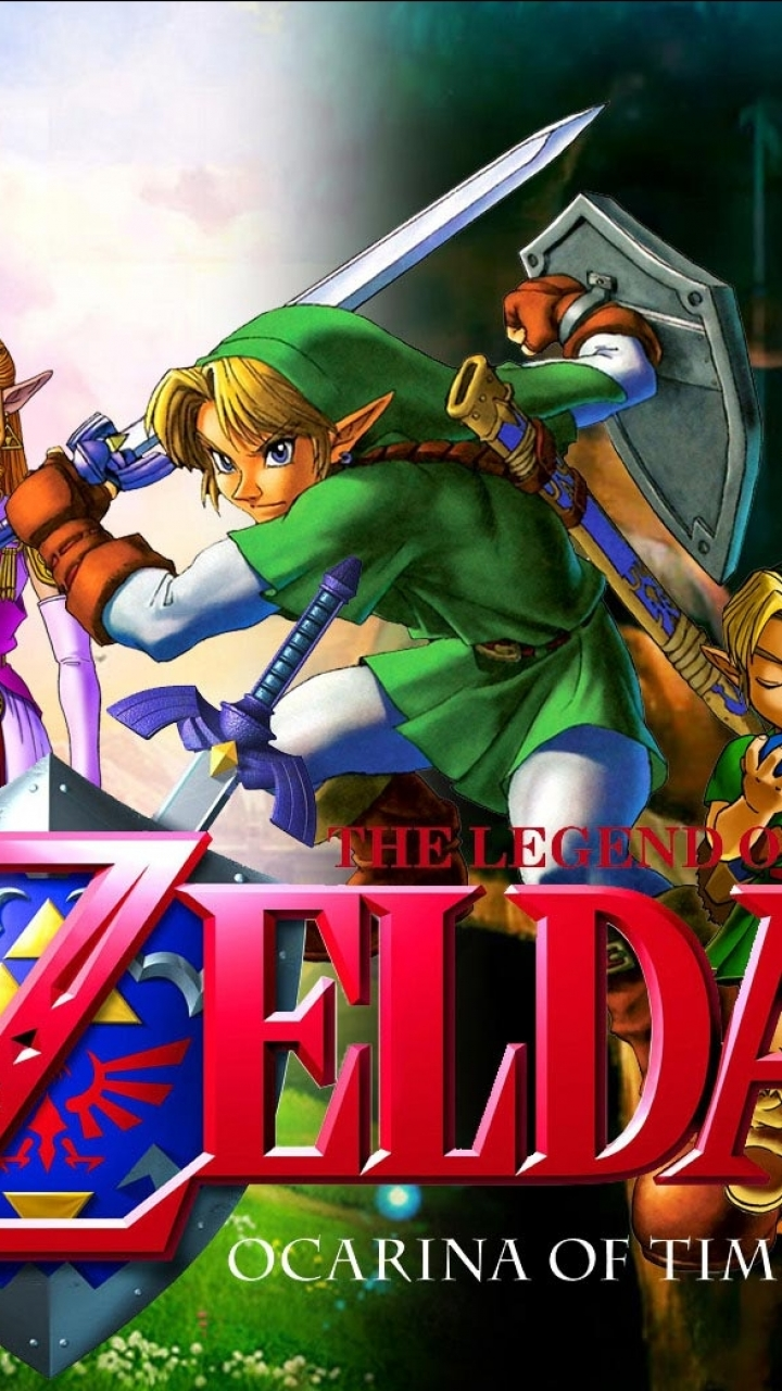Video Game The Legend Of Zelda Ocarina Of Time 720x1280