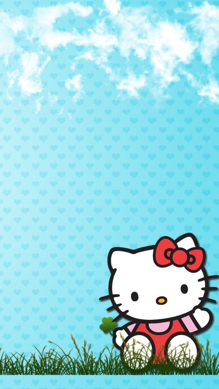 Anime Hello Kitty 750x1334 Mobile Wallpaper