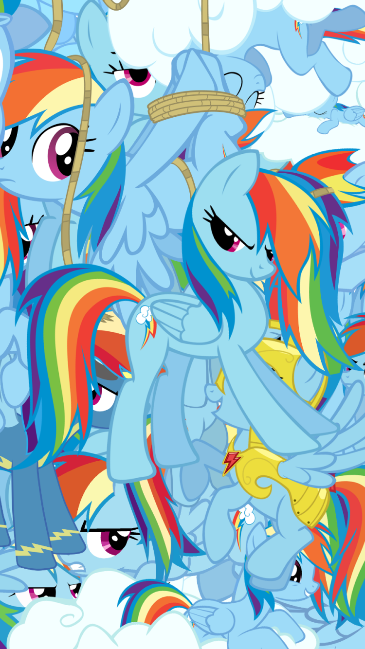 tv show/my little pony: friendship is magic (750x1334) wallpaper id