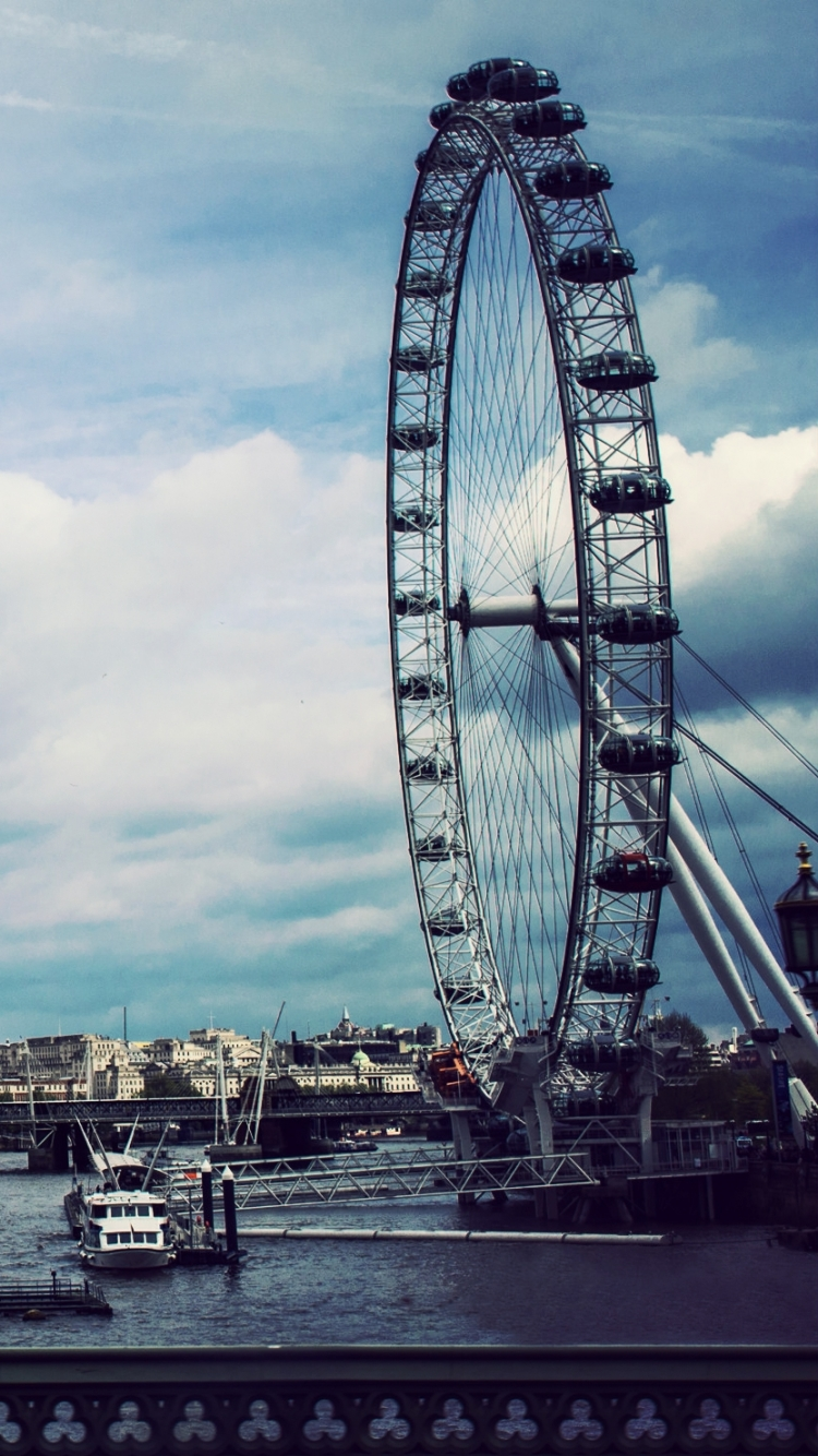 man made/london eye (750x1334) wallpaper id: 515289 - mobile abyss