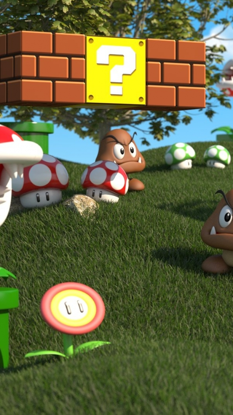 Video Game Super Mario 3d Land 750x1334 Wallpaper Id 521966