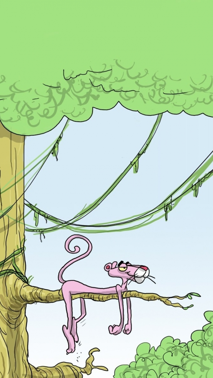 TV Show The Pink Panther 720x1280 Mobile Wallpaper