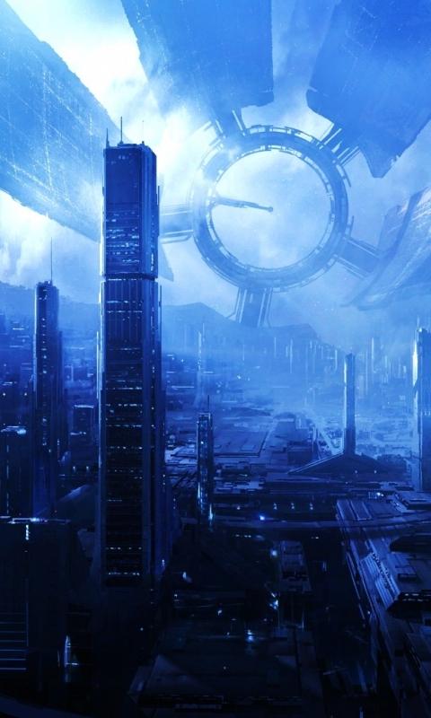 Video Game Mass Effect 480x800 Wallpaper Id 527257