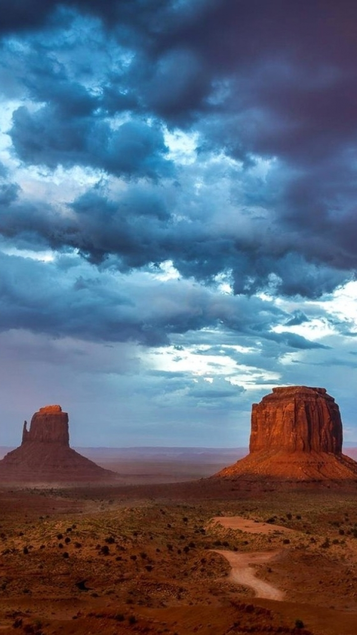 Earth Monument Valley 720x1280 Mobile Wallpaper