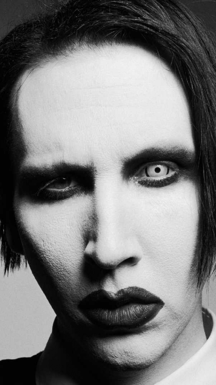 Music Marilyn Manson 750x1334 Wallpaper Id 531819 Mobile Abyss