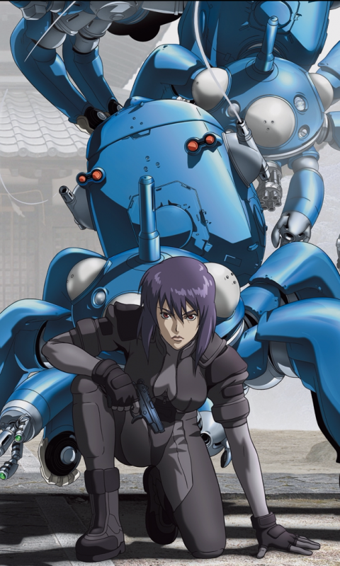 Anime Ghost In The Shell 480x800 Wallpaper Id 532055 Mobile Abyss