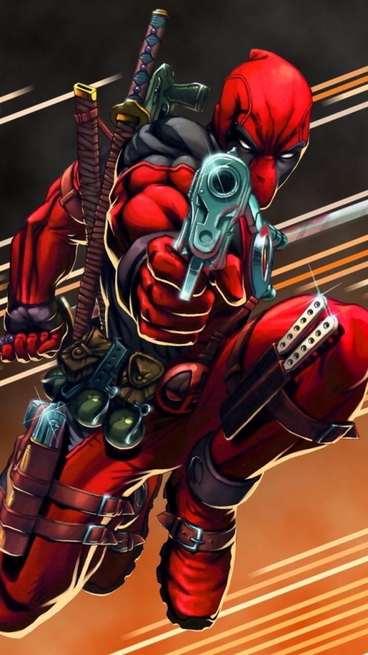 Comics Deadpool 720x1280 Wallpaper Id 535448 Mobile Abyss