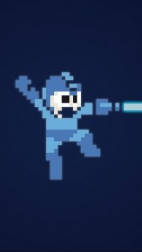 8 Mega Man Apple Iphone 7 750x1334 Wallpapers Mobile Abyss
