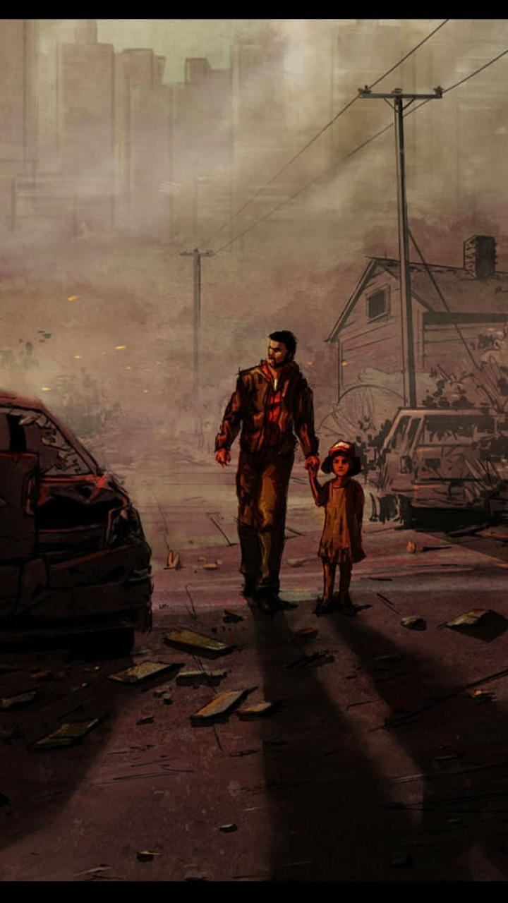 Video Game The Walking Dead Season 1 720x1280 Wallpaper Id