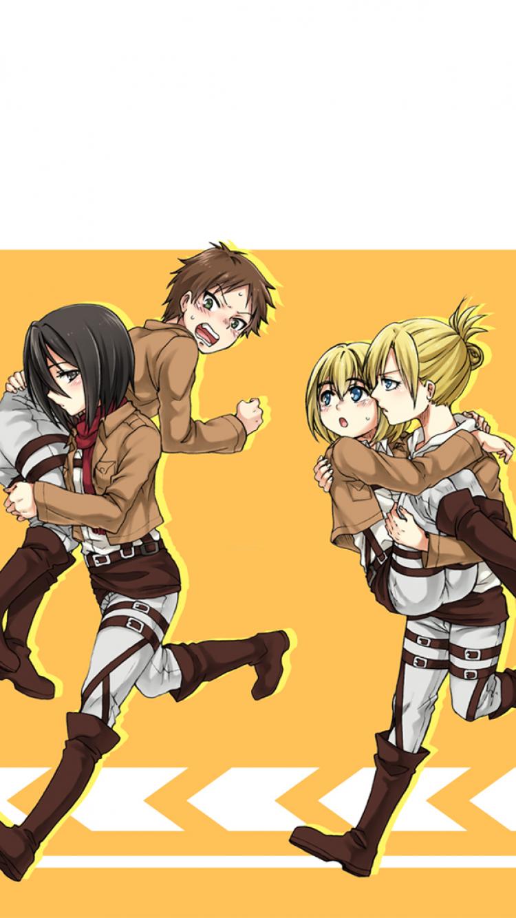 Anime Attack On Titan 750x1334 Wallpaper Id 558220 Mobile Abyss