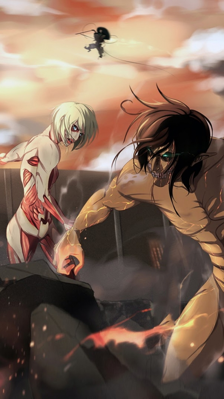 Anime Attack On Titan 750x1334 Wallpaper Id 558370 Mobile Abyss
