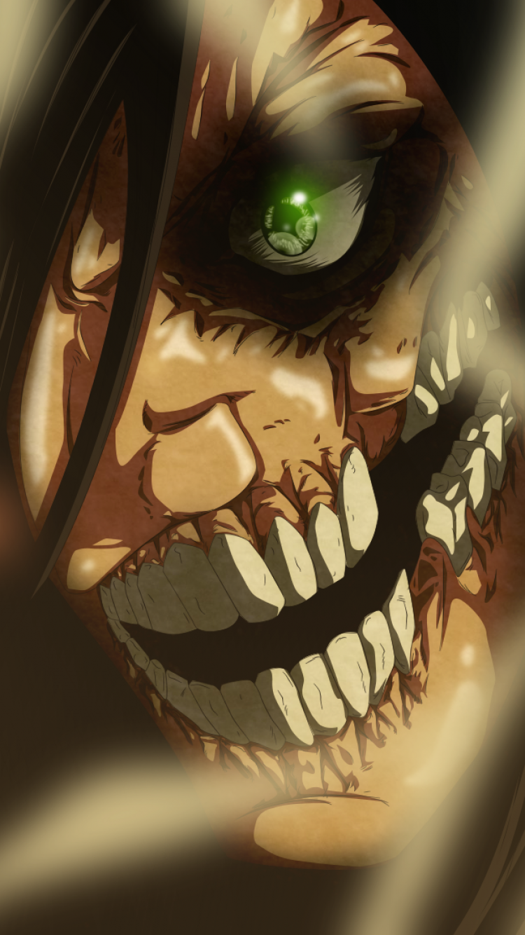 Anime Attack On Titan 750x1334 Wallpaper Id 558373
