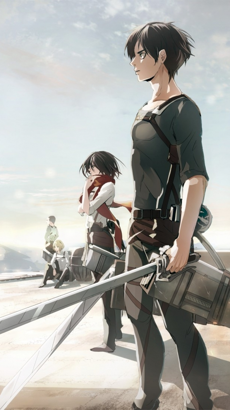 Anime Phone Wallpaper Attack On Titan