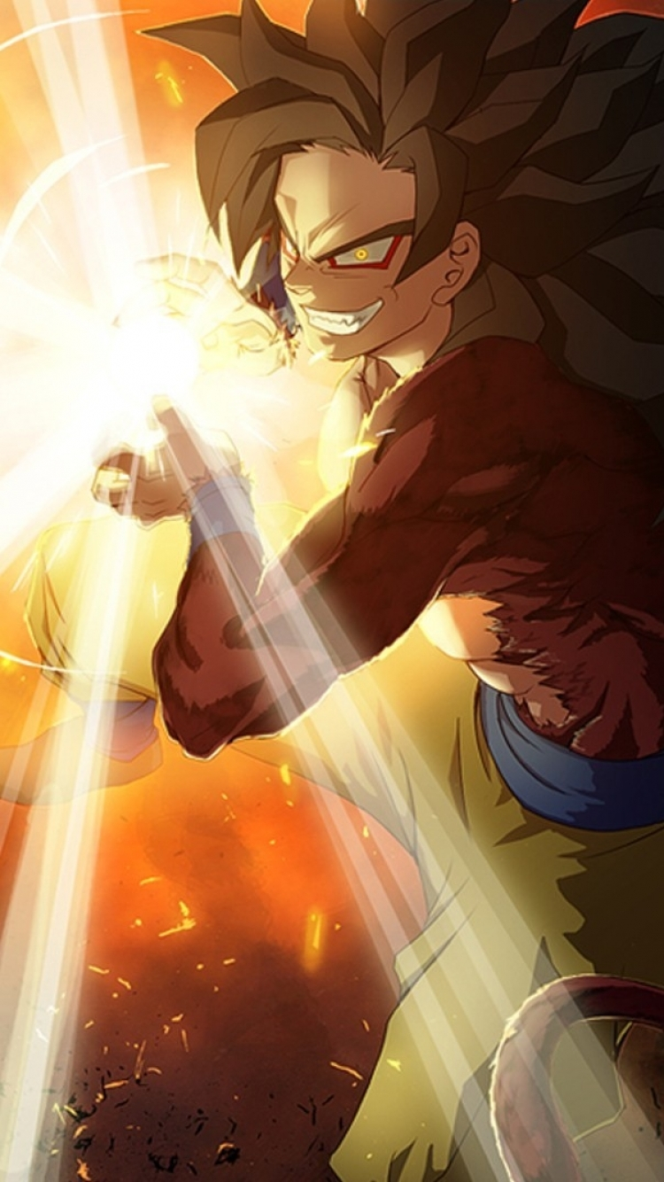 Anime Dragon Ball Gt 750x1334 Wallpaper Id 561235 Mobile Abyss