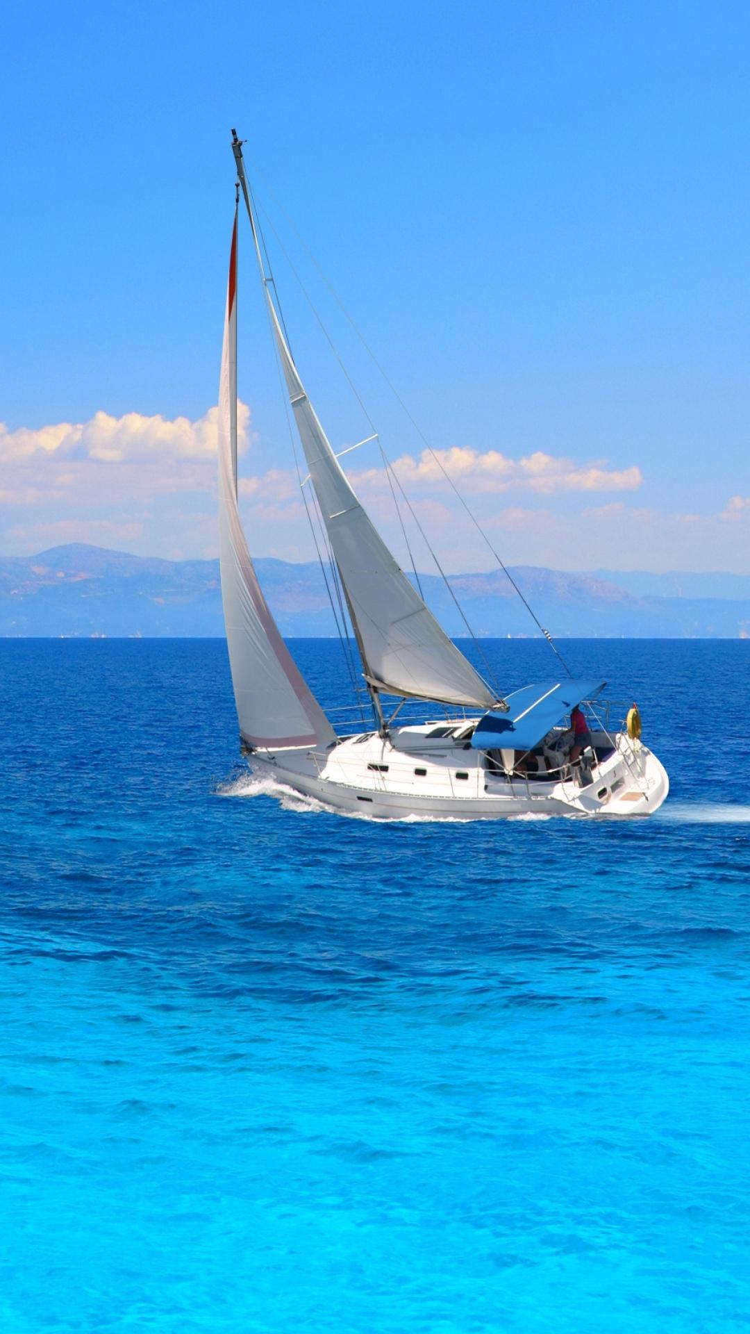 Iphone wallpaper yacht - Wallpaper 562433