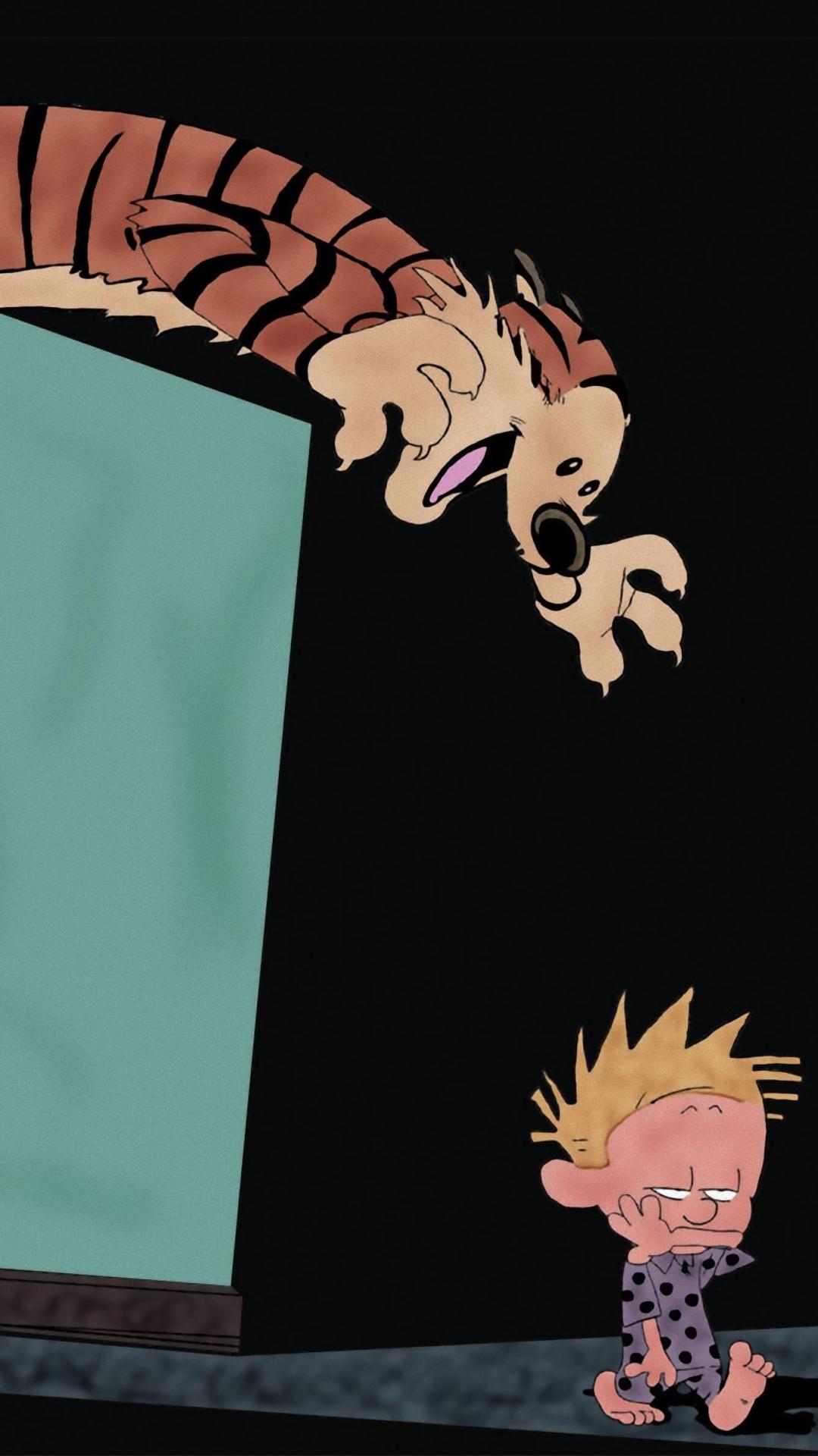 Comics Calvin Hobbes 1080x1920 Mobile Wallpaper