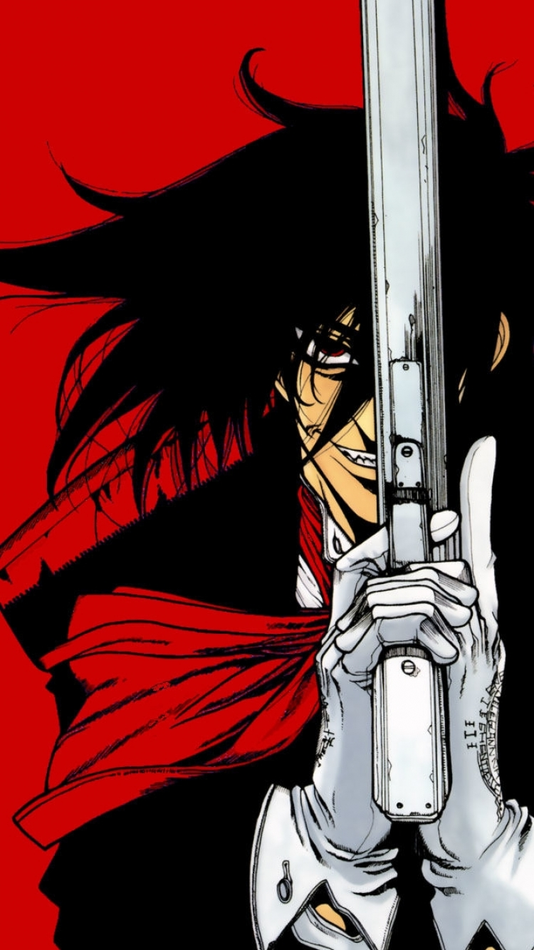 Anime/Hellsing (750x1334) Wallpaper ID: 573657 - Mobile Abyss