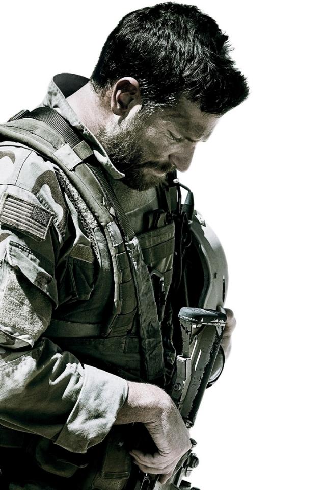 iPhone 4 - Movie/American Sniper - Wallpaper ID: 578146 Bradley Cooper
