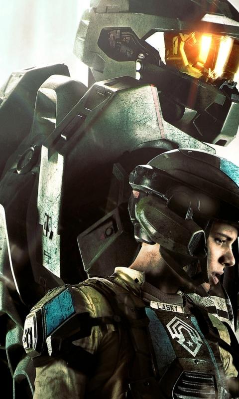 Tv Show Halo 4 Forward Unto Dawn 480x800 Wallpaper Id 578261