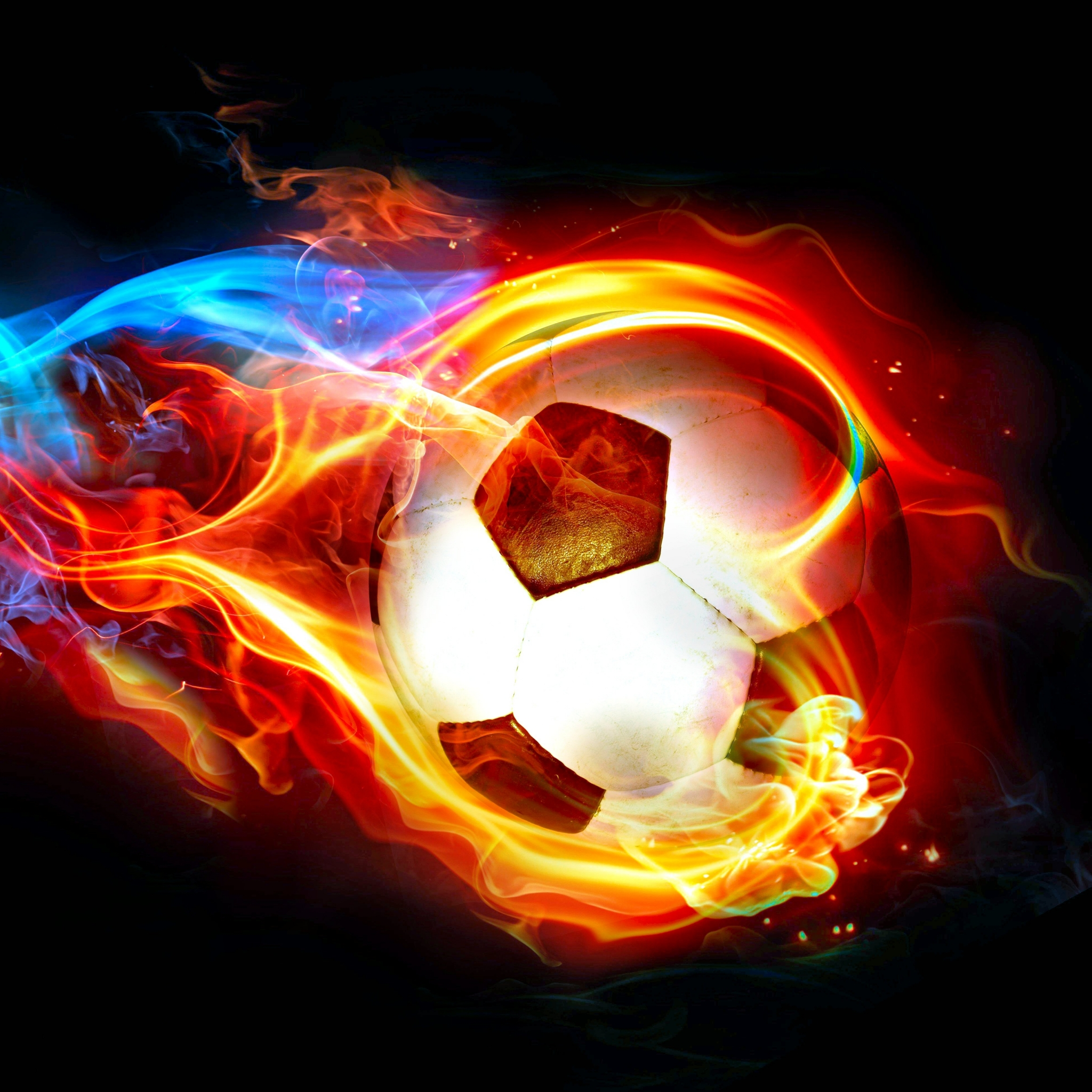ABSTRACT 06 Great Ball Of Fire 13june2014friday 121536 VersionOne BRAZIL2014 Sports Soccer 2048x2048 Mobile Wallpaper