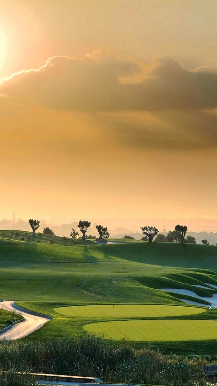 Man Made Golf Course 720x1280 Wallpaper ID 578711