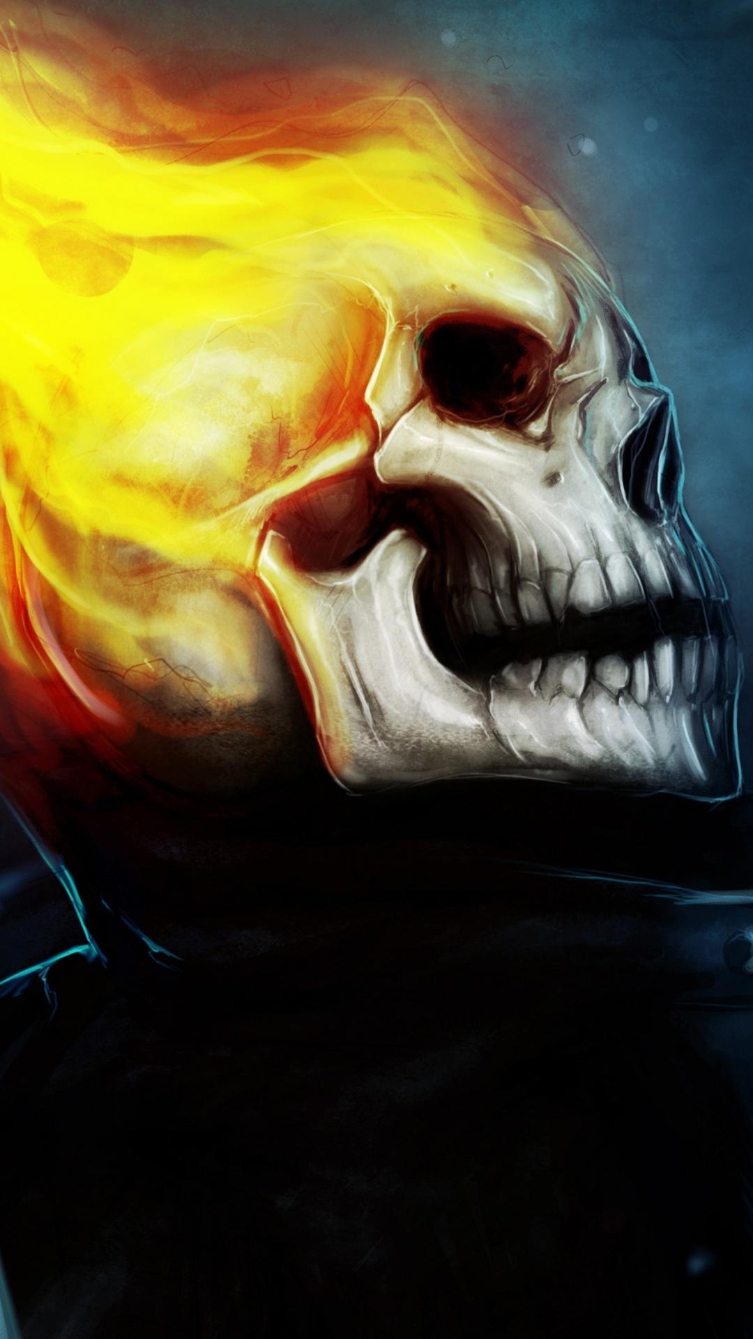 Comics Ghost Rider 1080x1920 Mobile Wallpaper