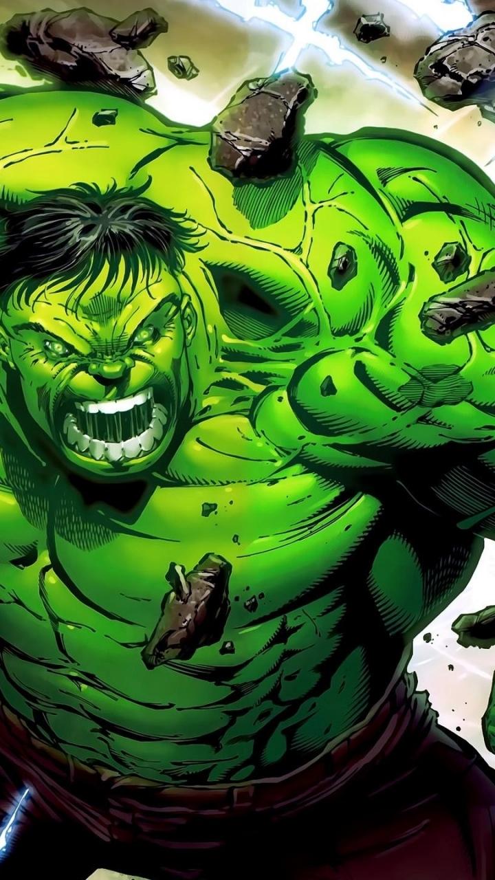 Comics Hulk 720x1280 Mobile Wallpaper