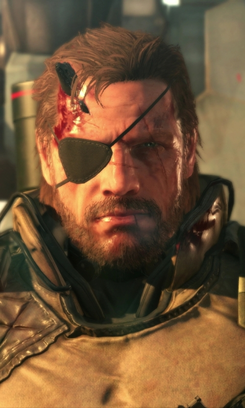 Video Game Metal Gear Solid V The Phantom Pain 480x800