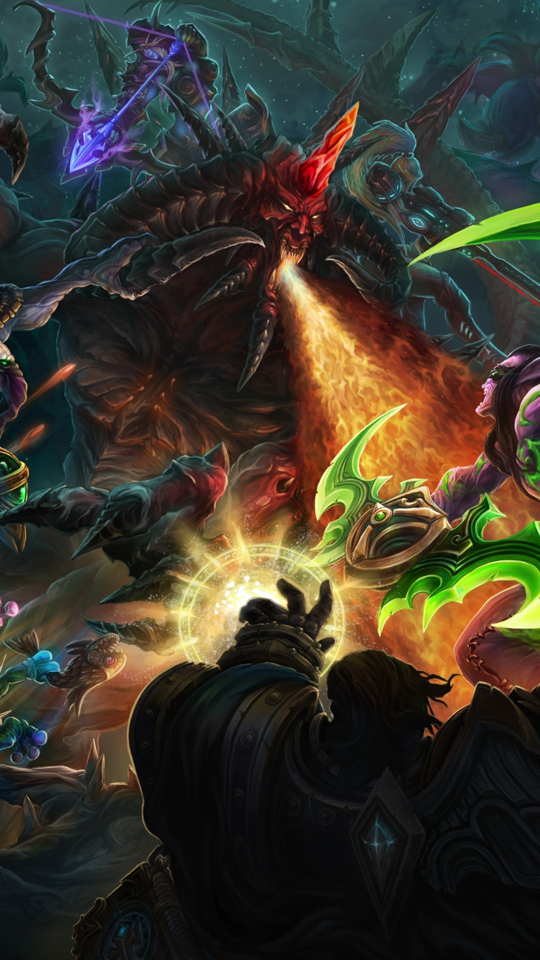 Video Game Heroes Of The Storm 1080x1920 Wallpaper Id 582584