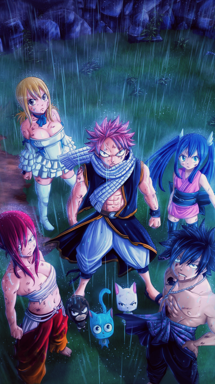 185 Fairy Tail Apple Iphone 6 750x1334 Wallpapers Mobile Abyss