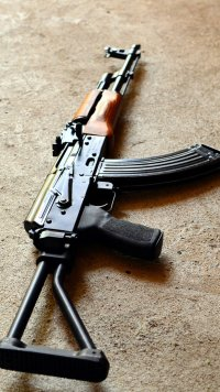 4 Ak 47 Apple IPhone 5 640x1136 Wallpapers