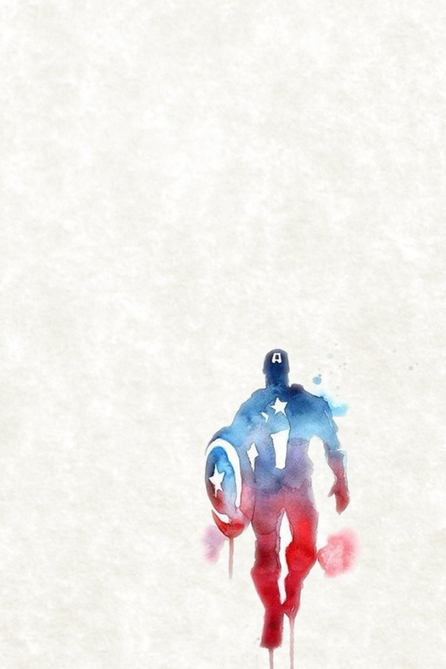 wallpaper captain america iphone