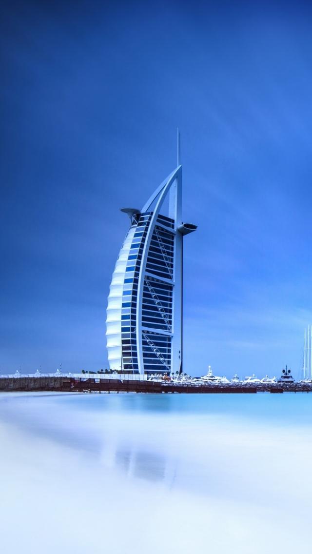 Man Made Burj Al Arab 640x1136 Wallpaper Id 584181