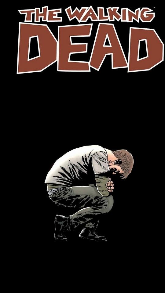 Comics The Walking Dead 540x960 Mobile Wallpaper