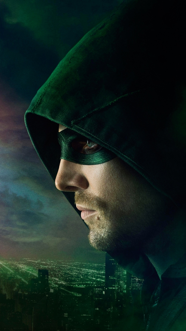 tv show/arrow (750x1334) wallpaper id: 585606 - mobile abyss
