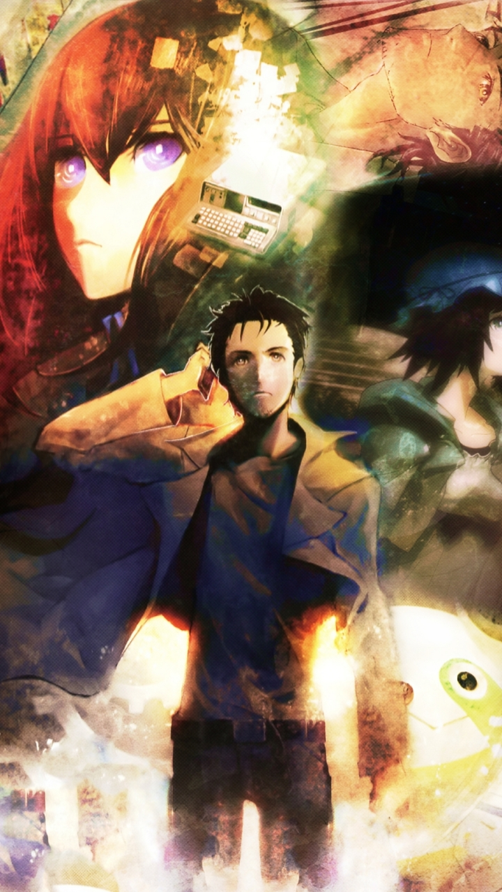 Anime Steins Gate 720x1280 Wallpaper Id 58686 Mobile Abyss