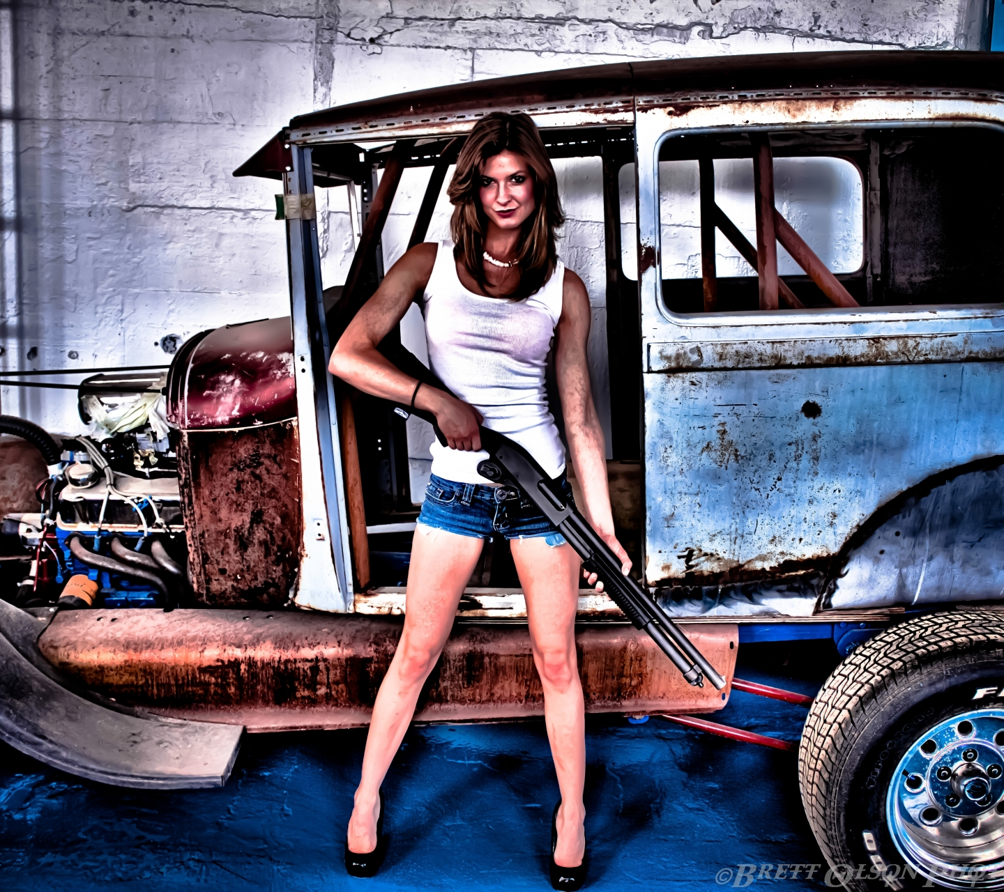 Womengirls guns 1440x1280 wallpaper id 588021 mobile abyss wallpaper 588021 voltagebd Image collections