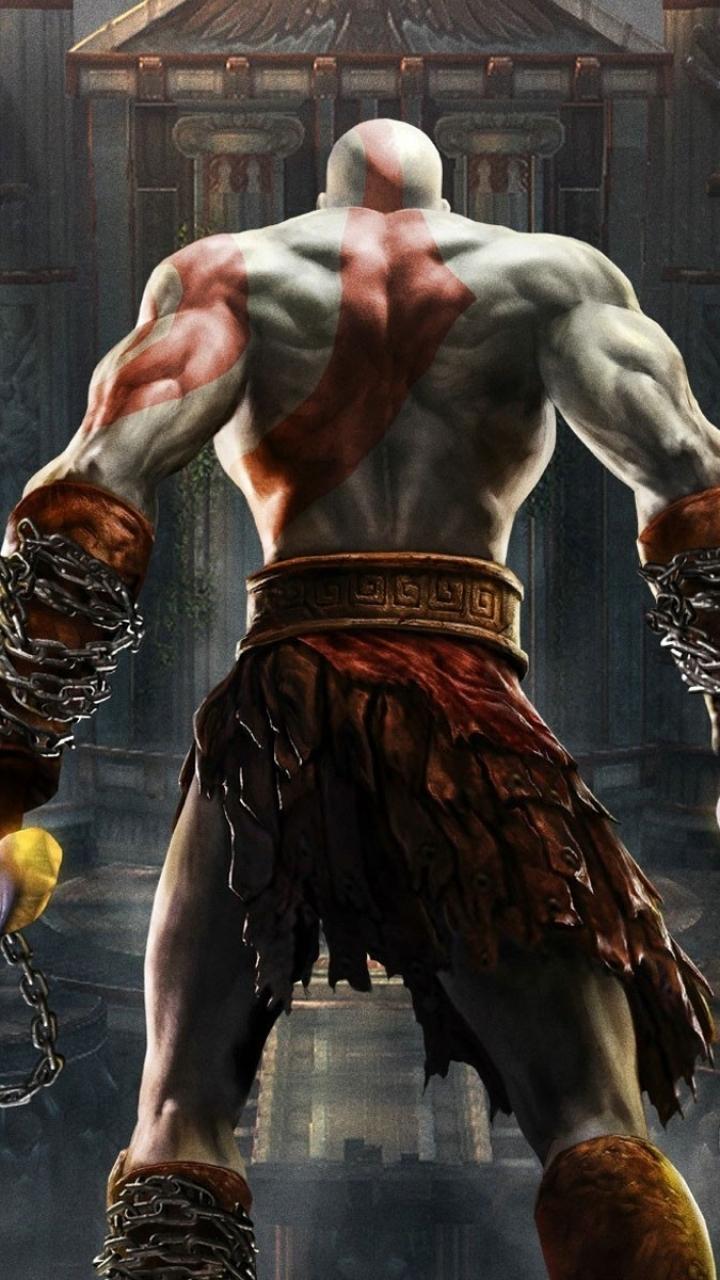 Video Game God Of War Ii 720x1280 Wallpaper Id 588598