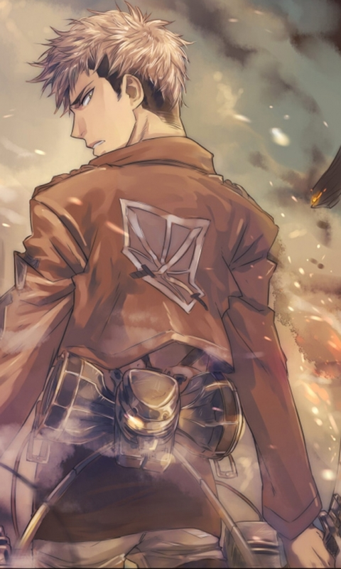 Anime Attack On Titan 480x800 Wallpaper Id 589383 Mobile Abyss